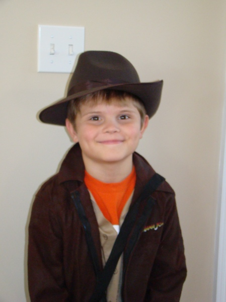 Jared as Indiana Jones